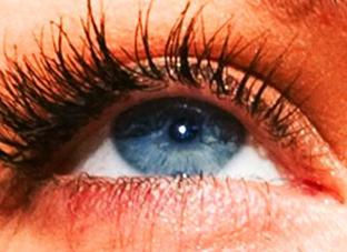 The eye of Megan Fox