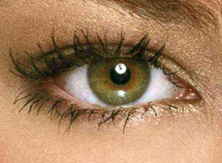 The eye of Kristin Kreuk