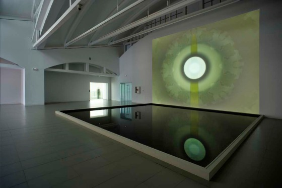 'THE EYE DON'T SEE ITSELF', Installed LABORAL, Gijon