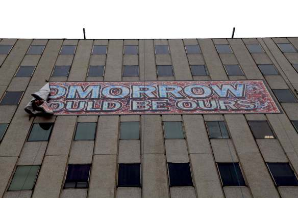 Mark Titchner: Street Art installation
